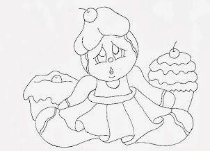risco-boneca-ginger-e-cupcakes-para-pintar