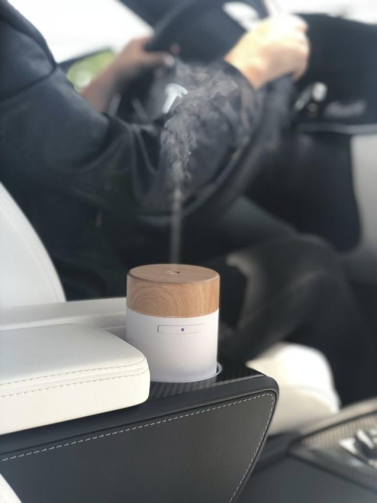 Gurunanda Ultrasonic Essential Oil Diffuser For Car