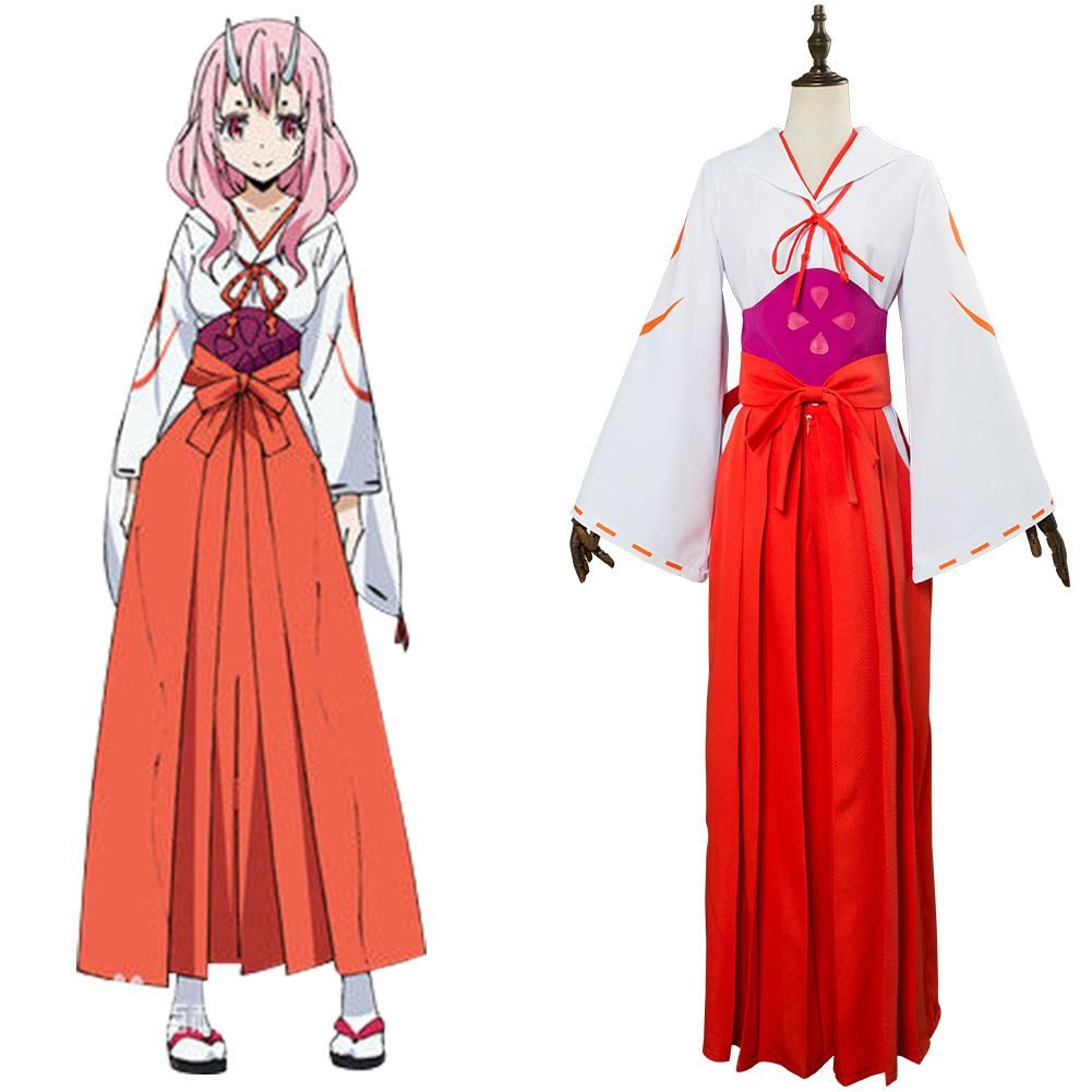 Moi Quand Je Me Reincarne En Slime Shuna Kimono Cosplay Costume Cosplaycart Fr Cosplay Anime Cosplay Outfits Anime Inspired Outfits Cosplay Costumes