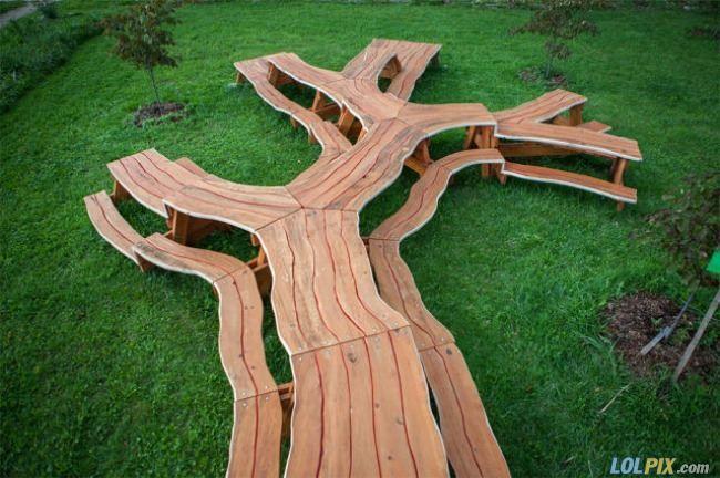 Hands down best picnic table Iu0027ve ever seen Picnic tables and - designer couchtische phantasie anregen