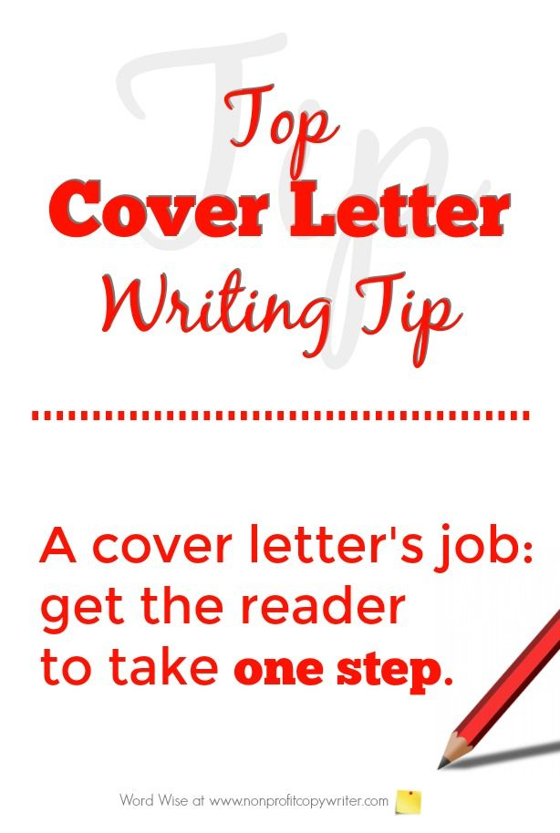 Top cover letter writing tip - use this tip for cover letters with - grant cover letter