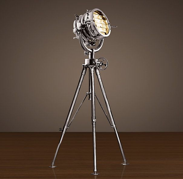 Royal Master Sealight Floor Lamp from Restoration Hardware.  Expensive but really cool