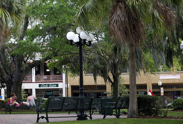 Things To Do In Sebring Fl >> Circle Park In Downtown Sebring Is A Popular Place For Locals To