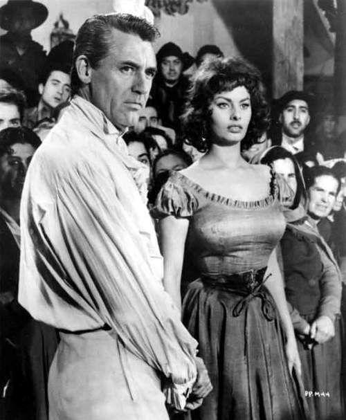 Cary Grant & Sophia Loren