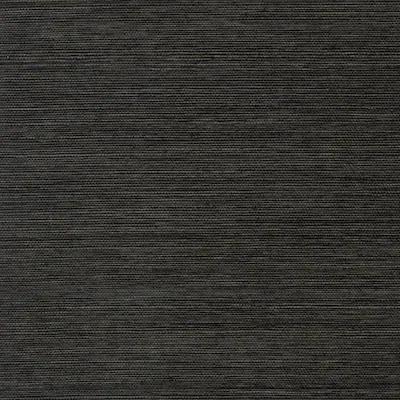 Allen + roth Black Grasscloth Unpasted Textured Wallpaper