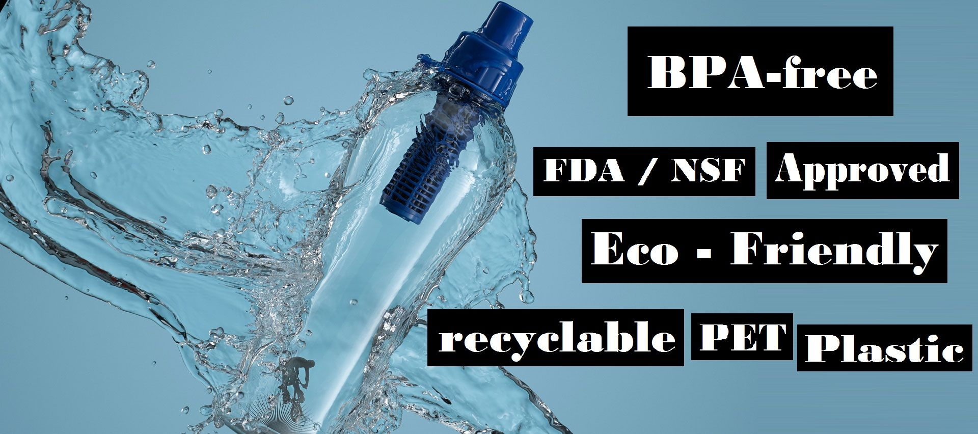 The most advance carbon filtered water bottle fit for your health. #FilteredWaterBottle #CleanWater #Health #Fitness #SmartDropBottle