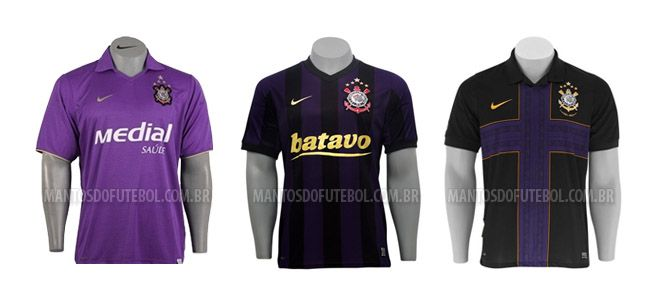 As três camisas roxas do Corinthians f0c32d1b8663b