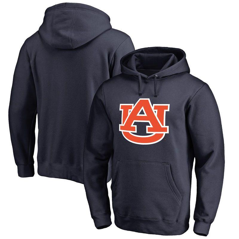 Auburn Tigers Primary Logo Fleece Pullover Hoodie - Navy | Logos ...