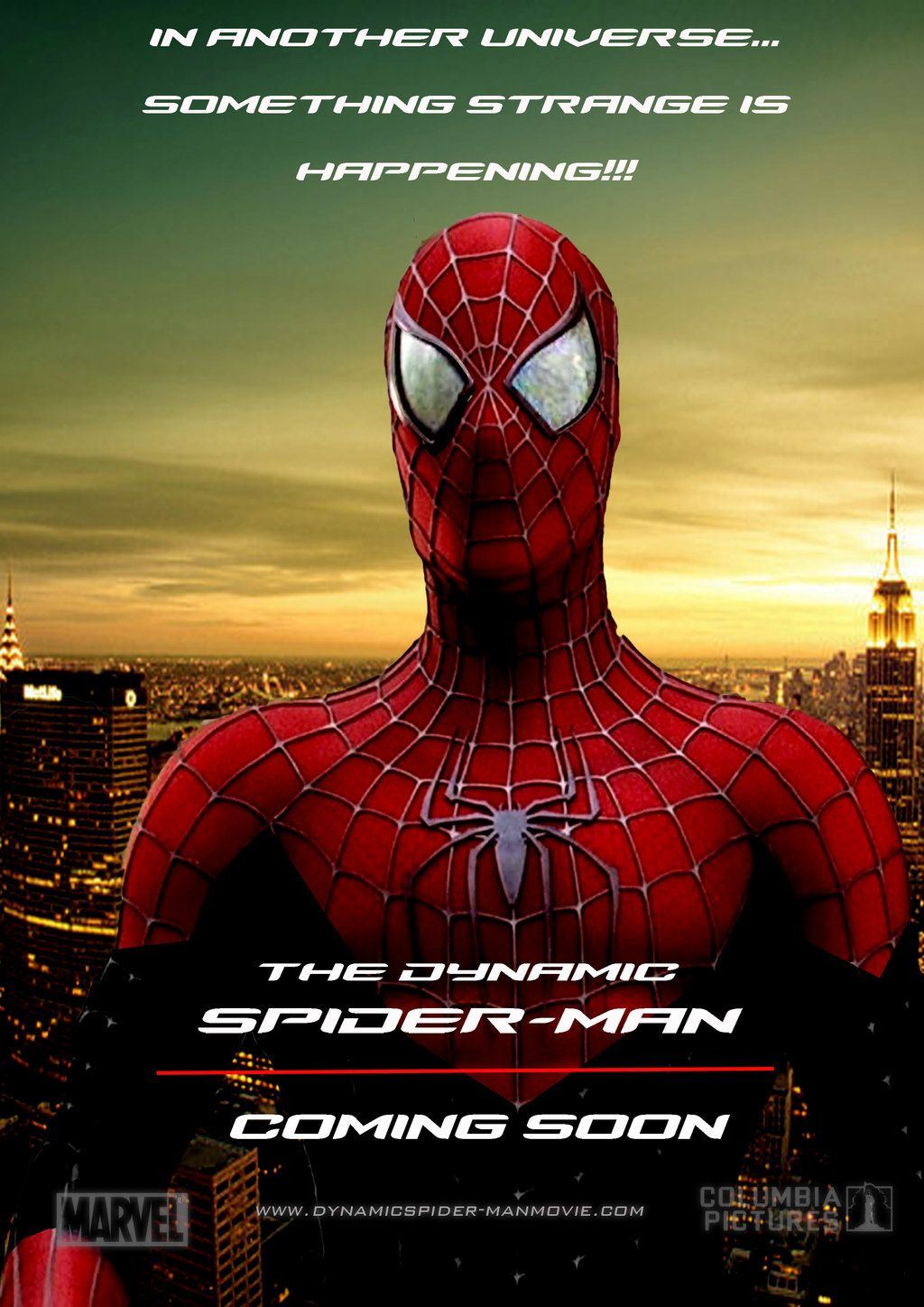 The Dynamic Spider-Man movie poster by stick-man-11 on ...