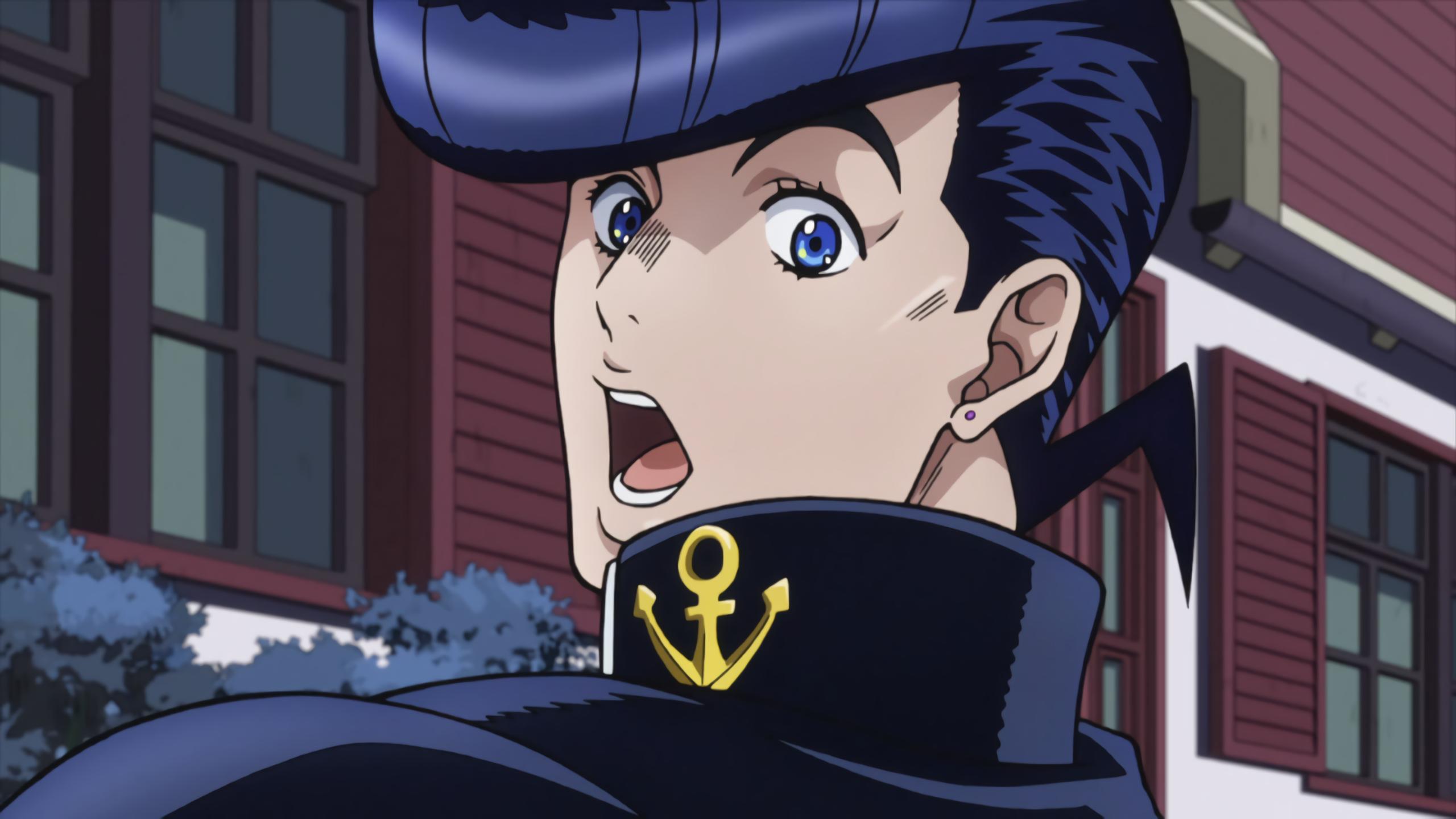 Jojo S Bizarre Adventure Anime Josuke Higashikata Jojo Bizarre Jojo Bizzare Adventure Jojo S Bizarre Adventure