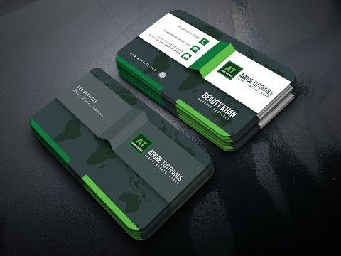 How to create a new business card design in illustrator youtube how to create a new business card design in illustrator youtube reheart Choice Image