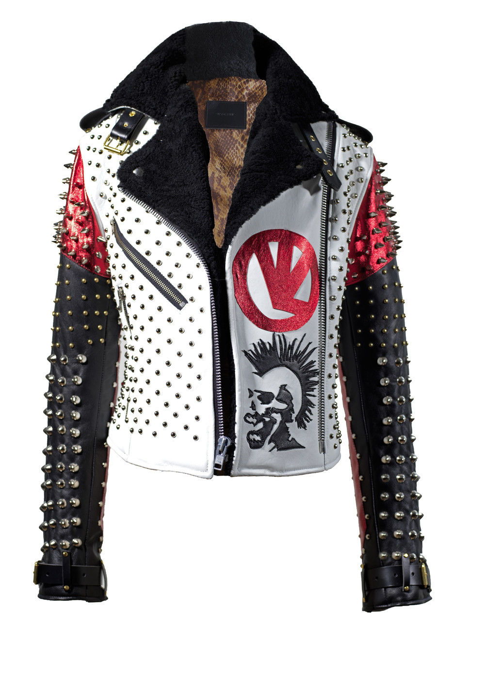 Pin by LeatherArt on Leather Jackets on eBay Fur leather