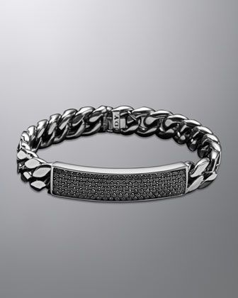 David Yurman Curb Chain Id Bracelet
