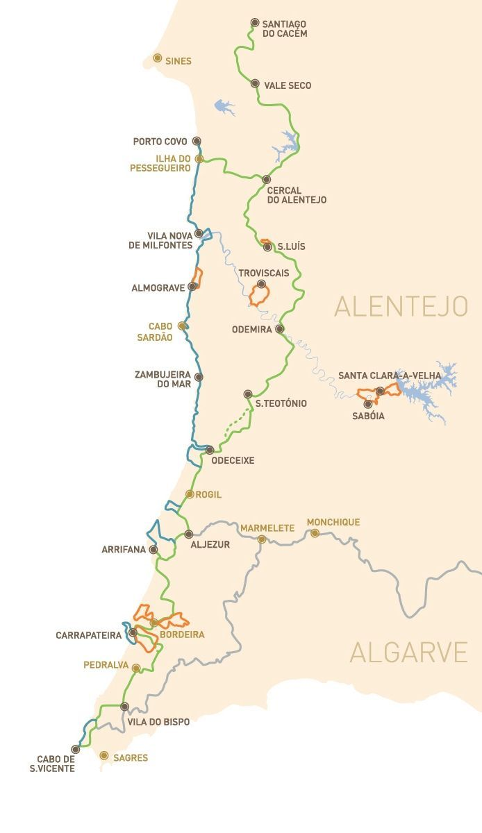 Der Schonste Kustenwanderweg Europas Der Fischerweg In Portugal Portugal Reisen Portugal Wandern