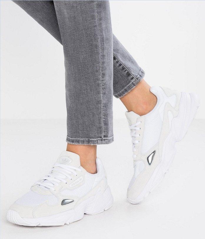 Adidas Originals FALCON Baskets basses footwear white ...