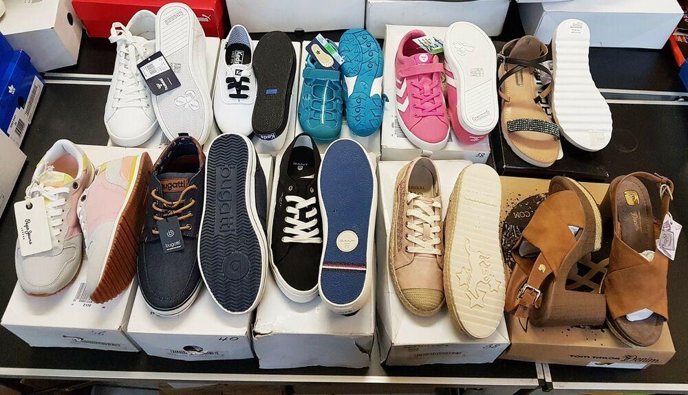 10 x Paar Marken Schuhe Restposten Gemischt Adidas Tom