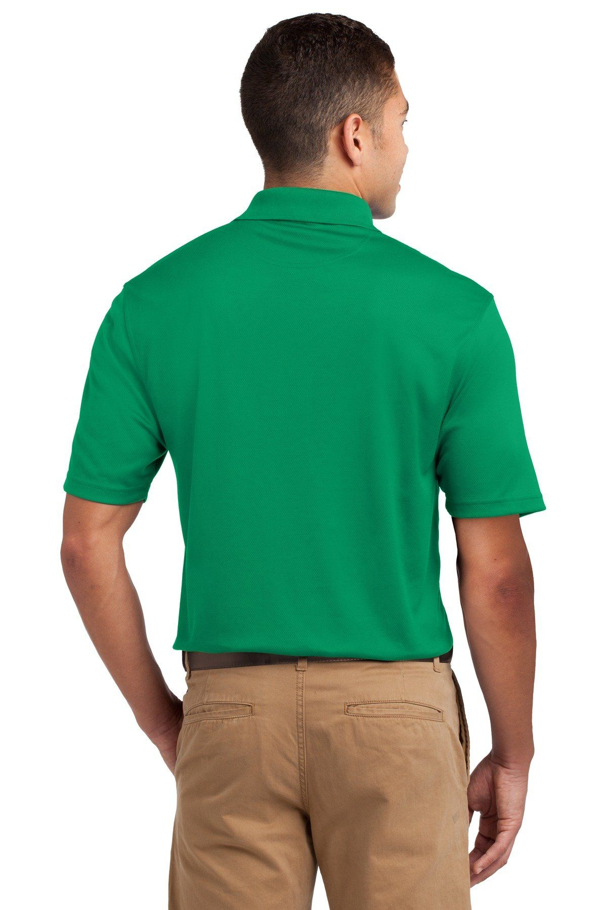 Men Golf Clothing *** SportTek Mens Dri Mesh Polo S Kelly
