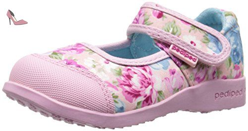 Chaussures Pediped roses fille Lr61P9O