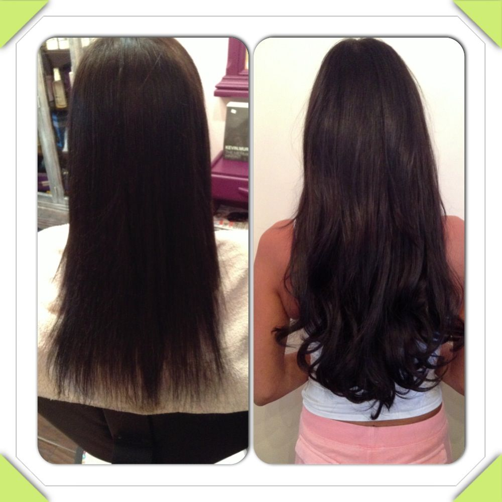 Before And After 20 Great Lengths Hair Extensions By The Great