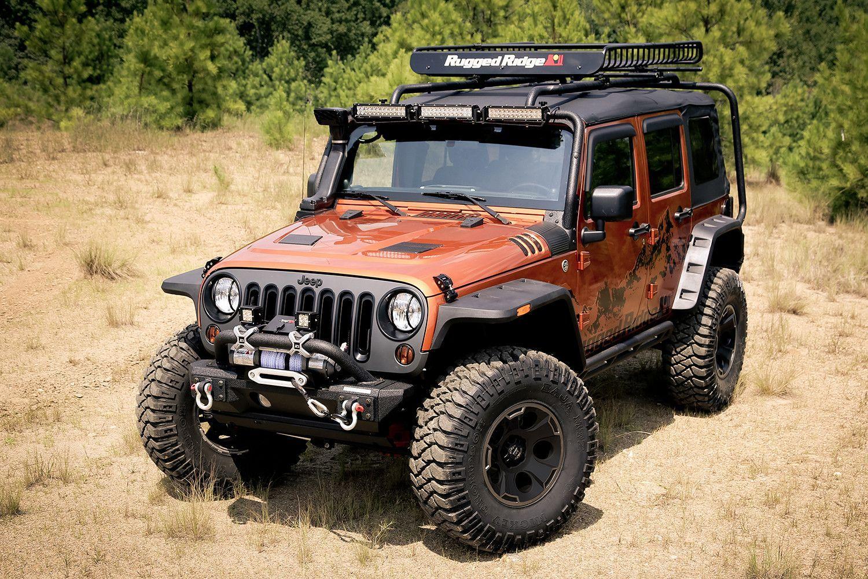 Hurricane Flat Fender Flare Kit 07 16 Jeep Wrangler Jk Jeep