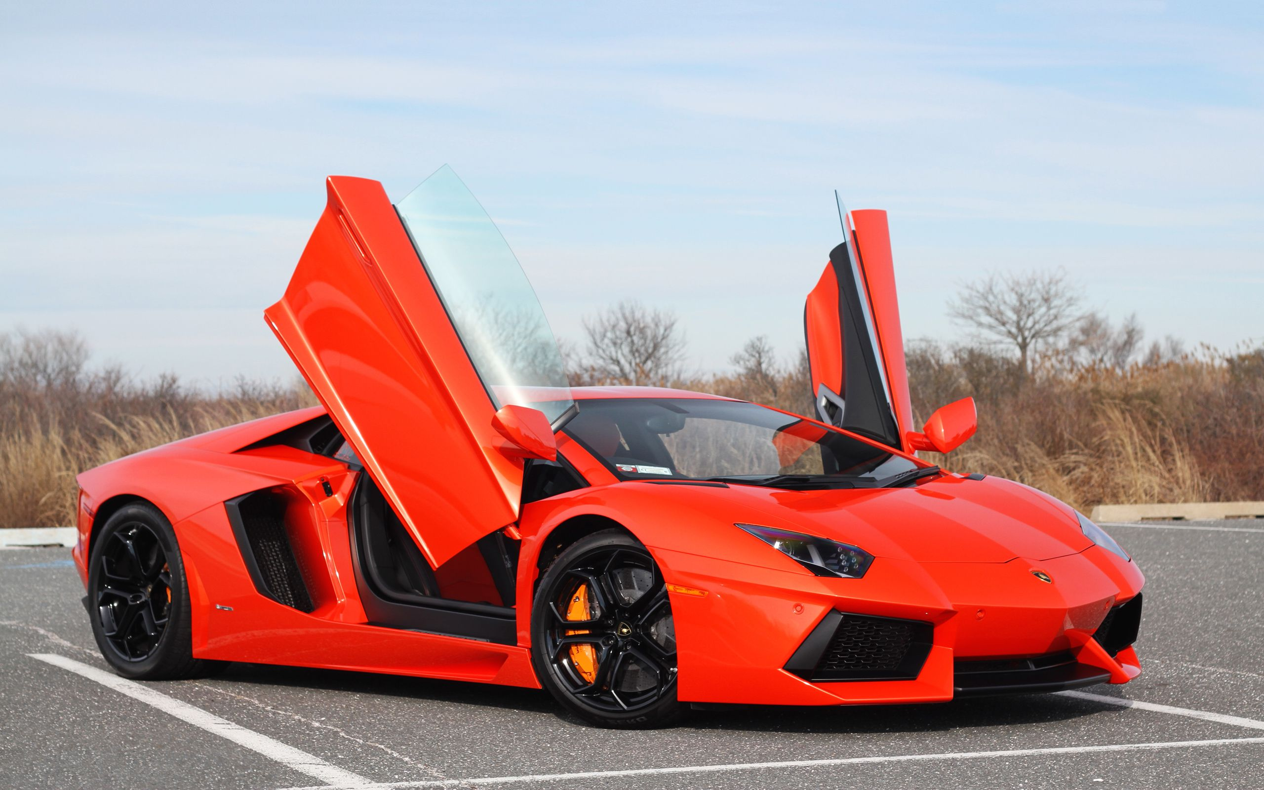 Lamborghini Aventador Red Wallpapers Pictures Photos Images