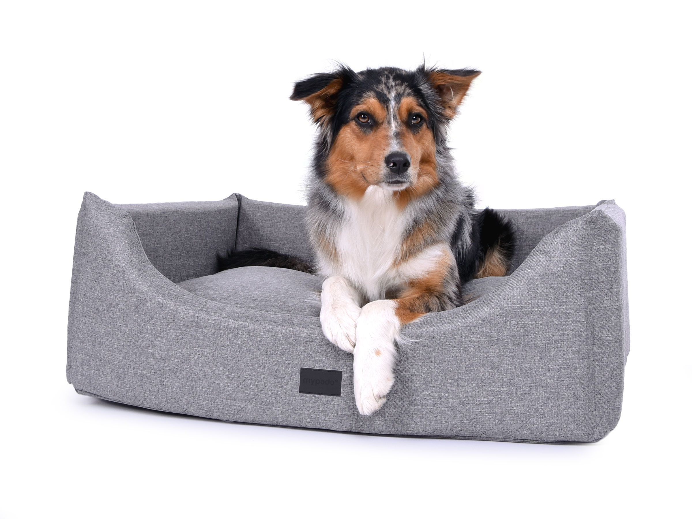Formschon Robust Und Bequem Dieses Schone Und Elegante Hundebett Besticht Allem Voran Durch Seinen Trendigen Strukturpolste Hunde Bett Hunde Kissen Hundebett