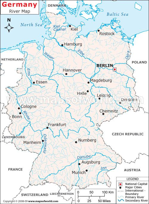Map Of Germany With Rivers.River Map Of Germany Passport Germany Coming Soon Unitstudies