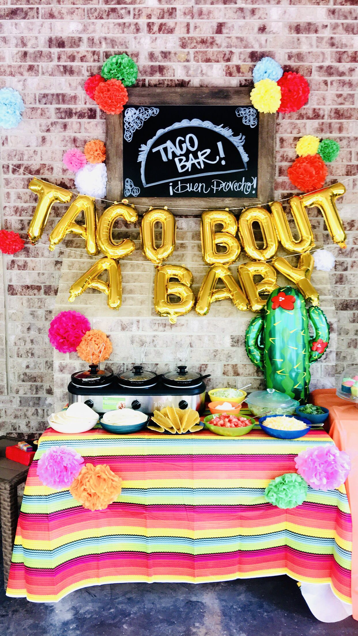 Unique Gender Reveal Party Theme Ideas 2019 Gender Reveal Ideas, Fiesta, Taco Bar, Baby Shower, Babies | Baby