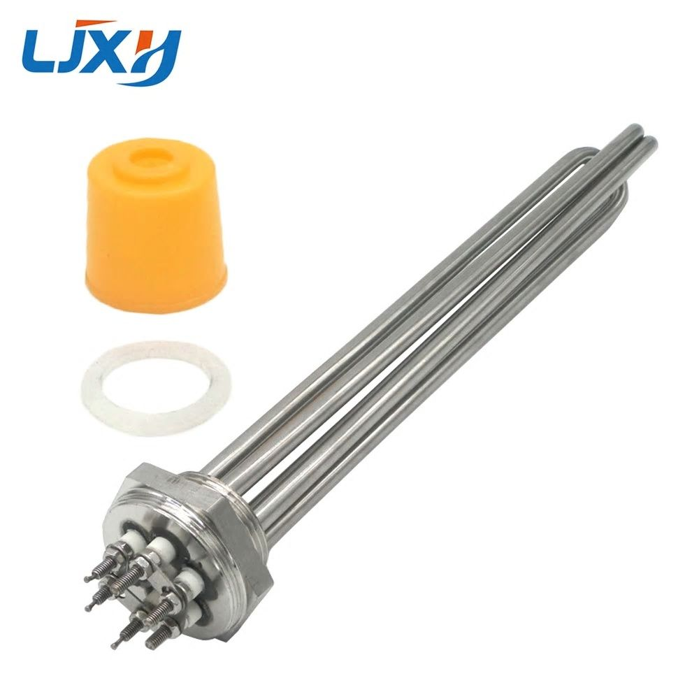 Ljxh Dn32 Electric Heating Element Immersion 220v 380v Heater 304 Stainless Steel 1 2 Boiler Water Heat Electric Water Heater Electric Heating Heating Element
