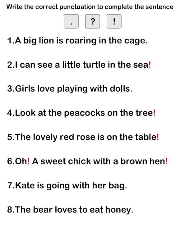 Simple Sentence Worksheet9 eslefl Worksheets grade1 – Simple Sentence Worksheets