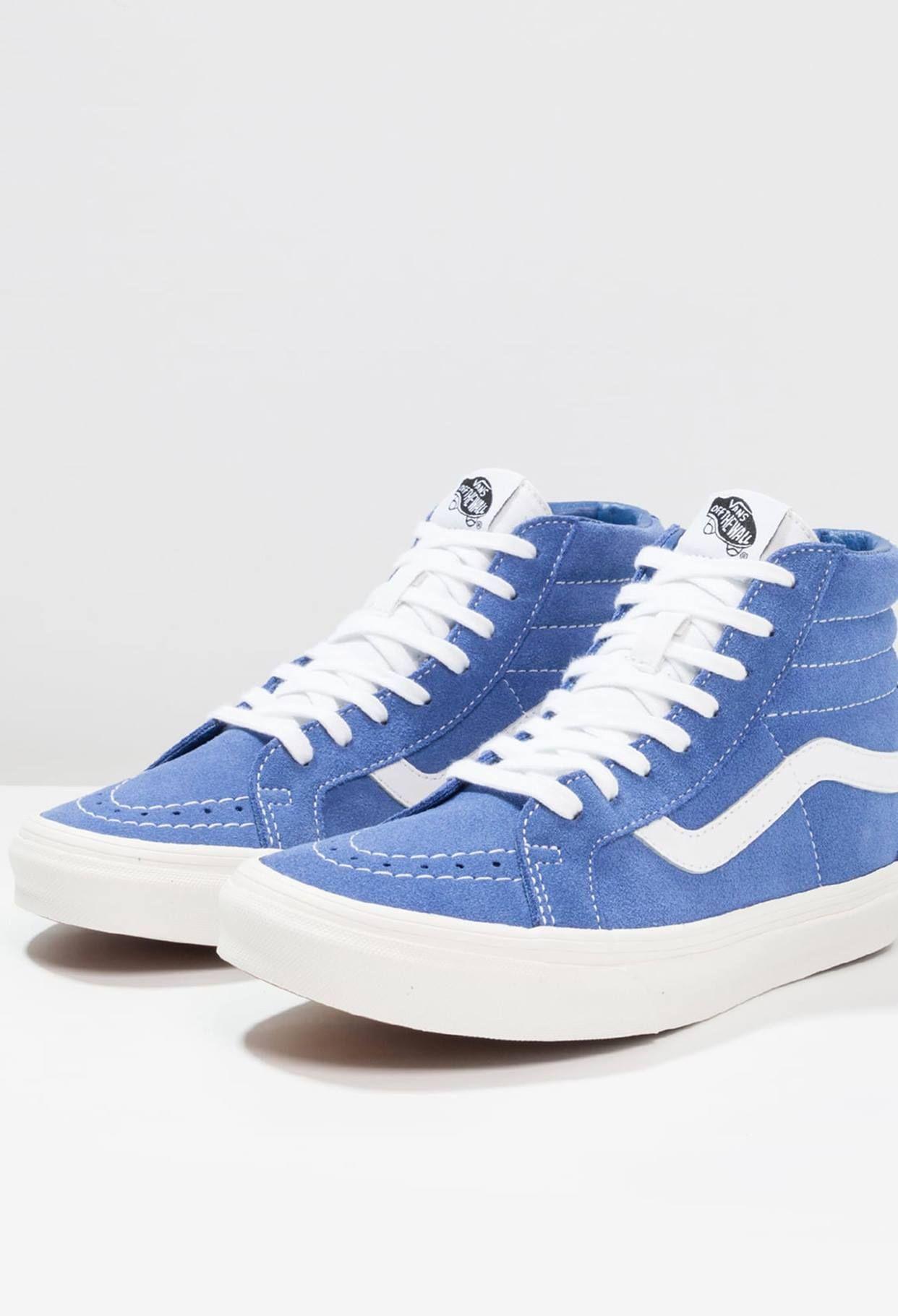 basket vans femme bleu