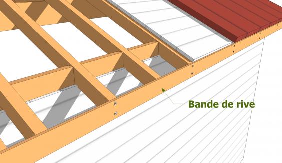 Anatomie D Une Charpente De Toiture Monopente Les Guides De La Construction Bois En 2020 Toiture Construction Bois Charpente