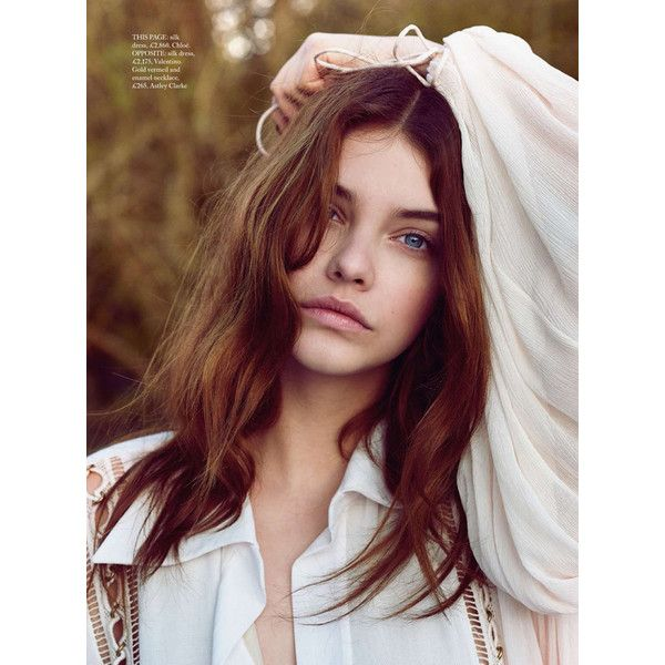 Barbara Palvin By Regan Cameron In 'Earth, Wind and Fire' For Vogue UK... ❤ liked on Polyvore featuring barbara palvin, barbara and pictures