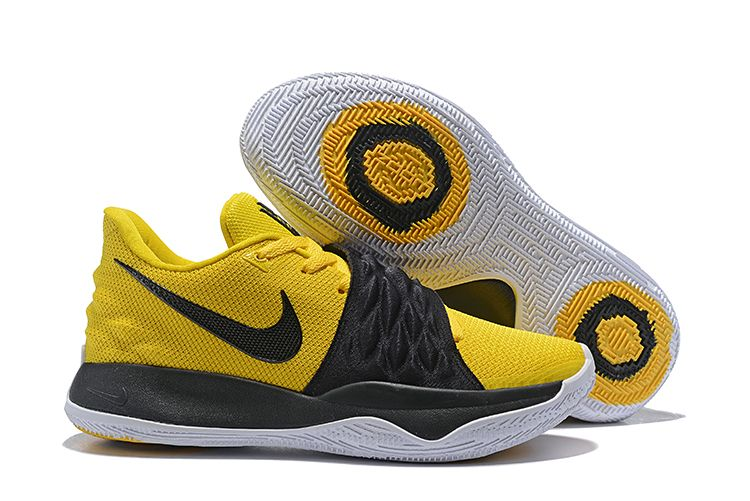 wholesale dealer 1a8f5 9b692 Nike Kyrie 4 Low Amarillo/Black-White AO8979-700 | Latest ...