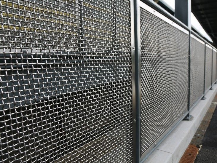 Image Result For Industrial Fence Panels Fencing Design