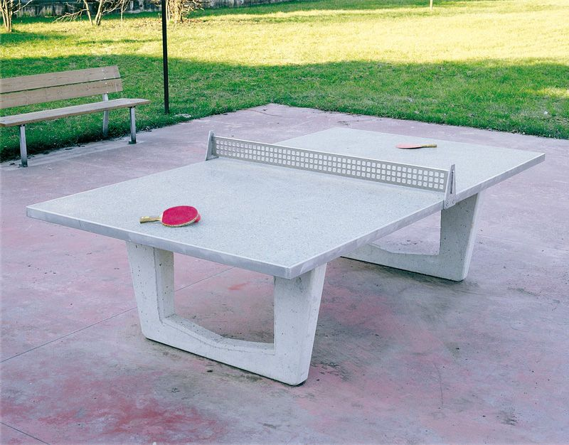 outdoor ping pong table art 011068 legnolandia. Black Bedroom Furniture Sets. Home Design Ideas