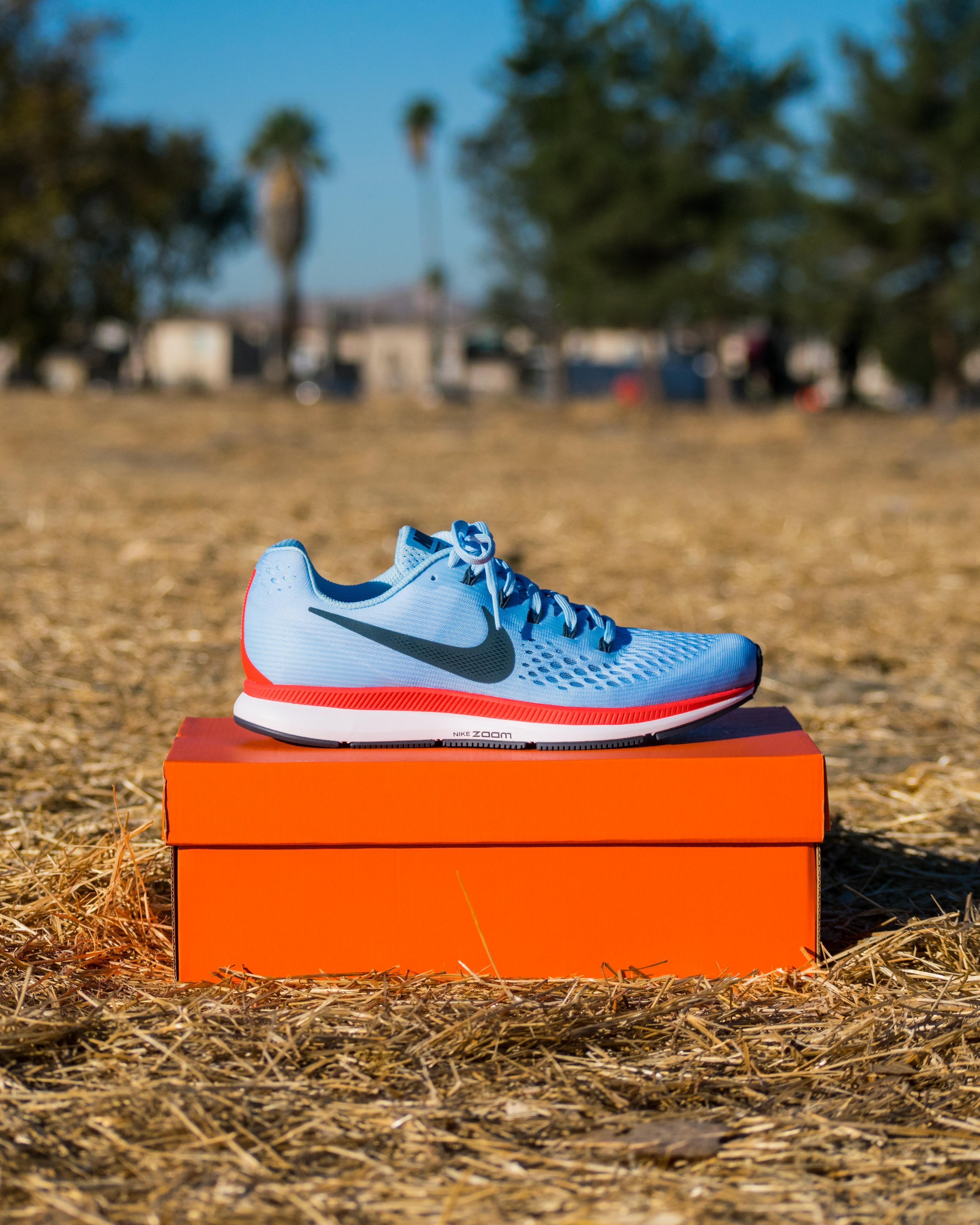 43e6b6ec2d3 Nike Air Zoom Pegasus 34 (Ice Blue Bright Crimson White Blue Fox ...