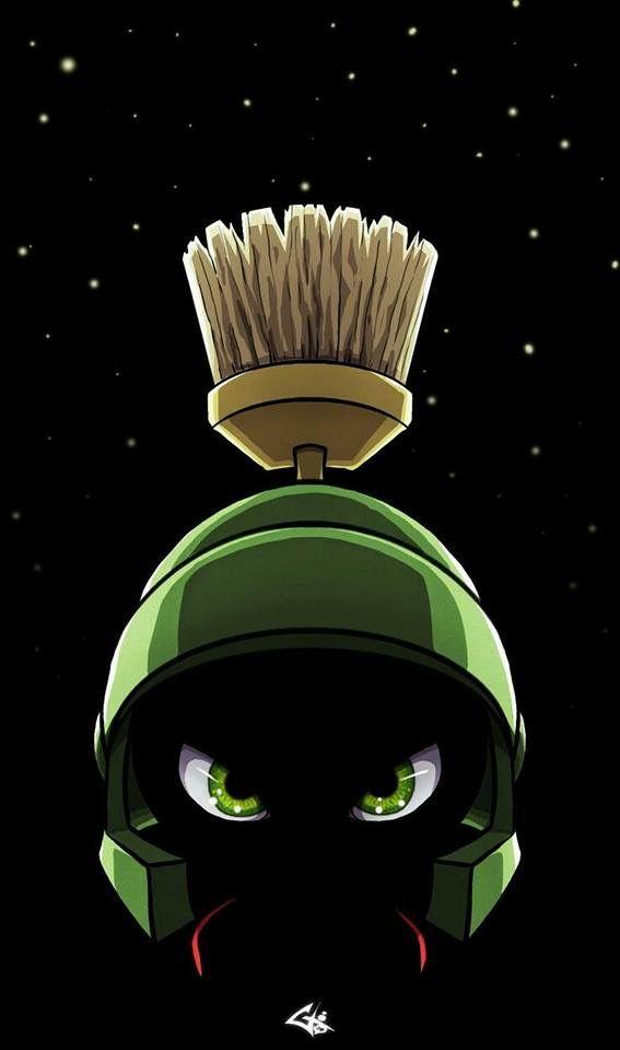 Marvin The Martian Wallpaper Papel De Parede Geek Desenhos Animados Desenhos Animados Antigos