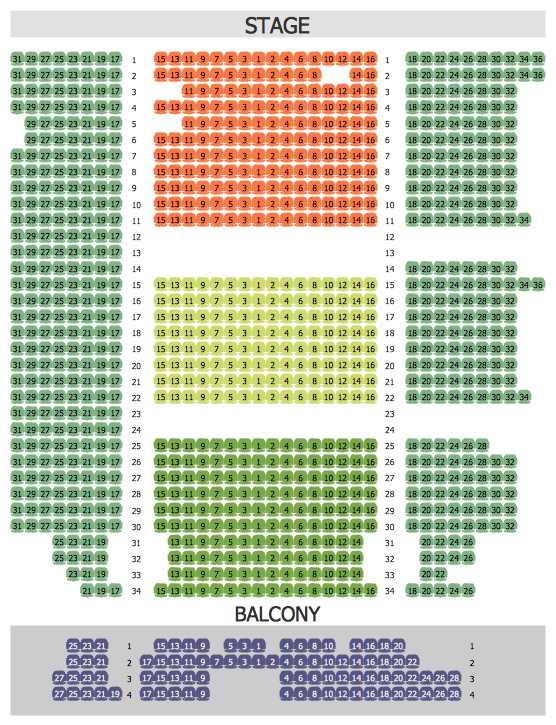 Philharmonic Hall Seating Plan Seating Plan How To Plan Seating Chart Template
