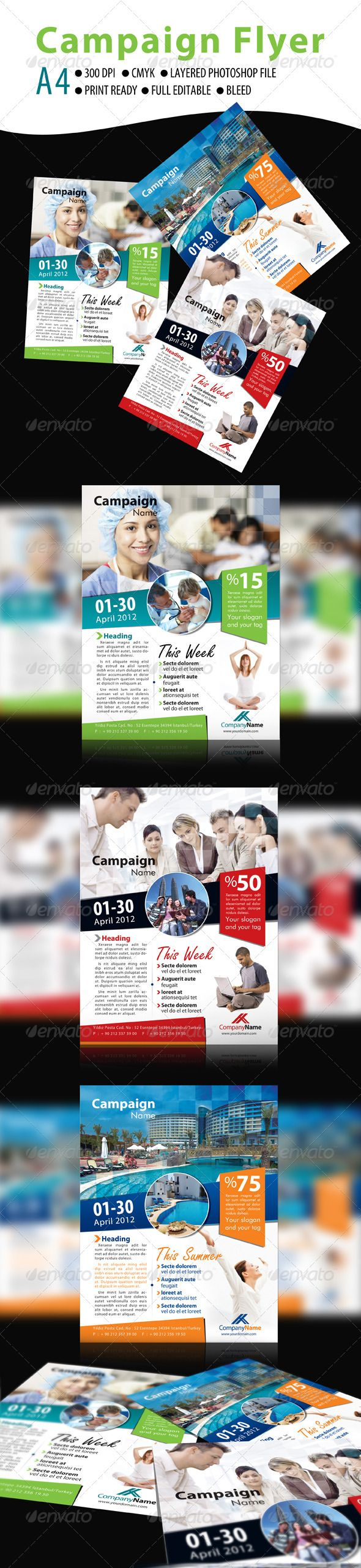 campaign flyer flyer print templates fonts travel templates · campaign flyer