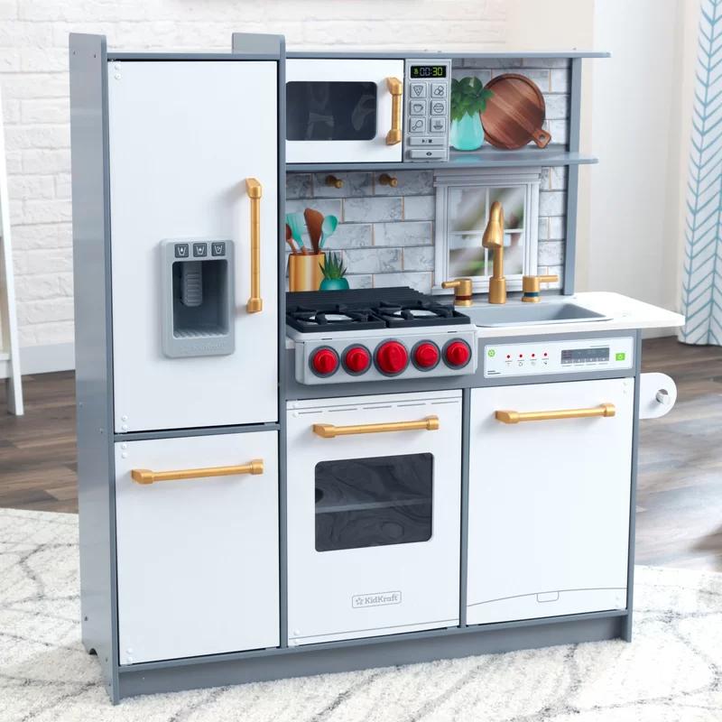 Uptown Elite Play Kitchen Set Play Kitchen Kidkraft Kitchen Play Kitchen Sets