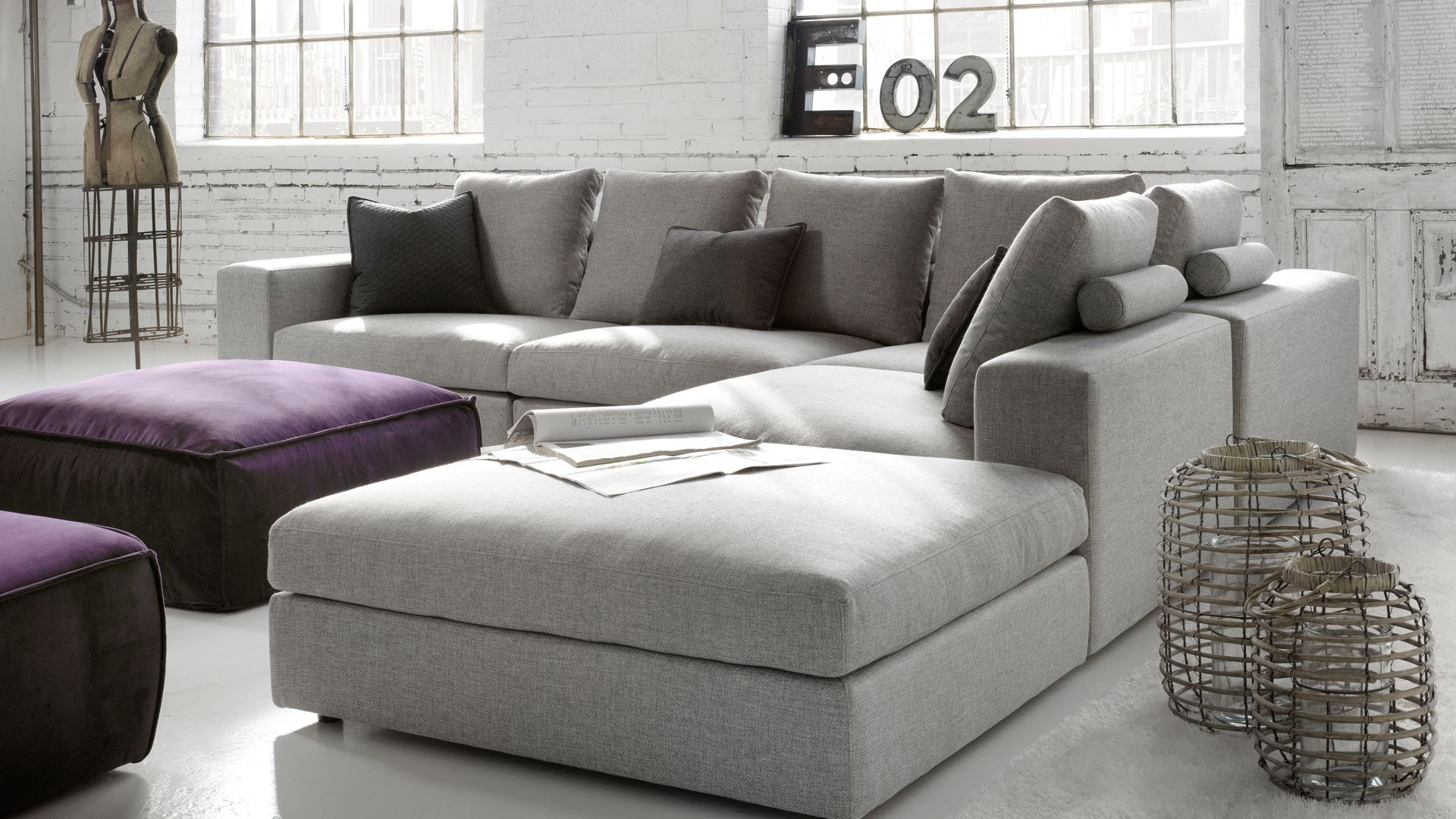 Hyde Contemporary Modular Sofa Made To Order By G Romano In Montreal