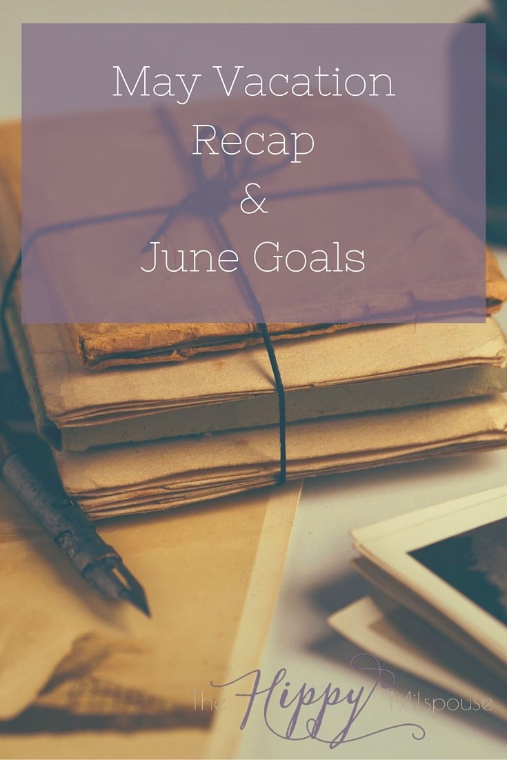 What happens when you live OCONUS and your family visits? No blogging gets done. Instead you spend time with them and go do all the tourist things in Seoul. Find out what we did, and get a look at my goals for June.