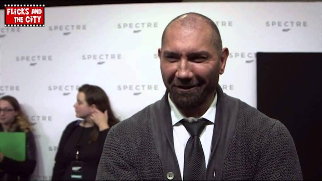 Bond 24 SPECTRE - Dave Bautista Interview