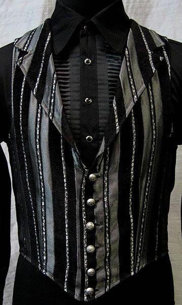 Victorian Aristocrat Vest by Shrine Clothing Goth Steampunk Mens Jackets
