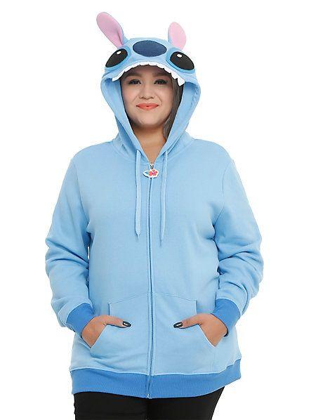 46496170660d Disney Lilo & Stitch Girls Costume Hoodie Plus Size | Hot Topic ...