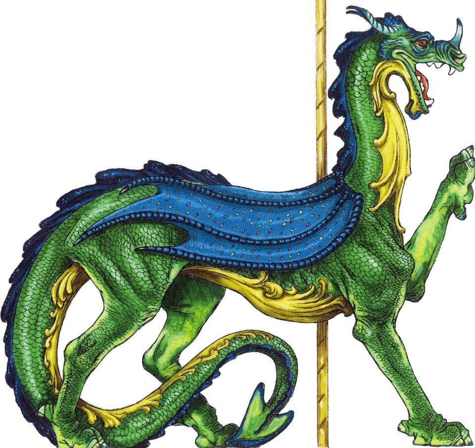 Carousel Dragon Carousel Horses Pet Dragon Bryer Horses
