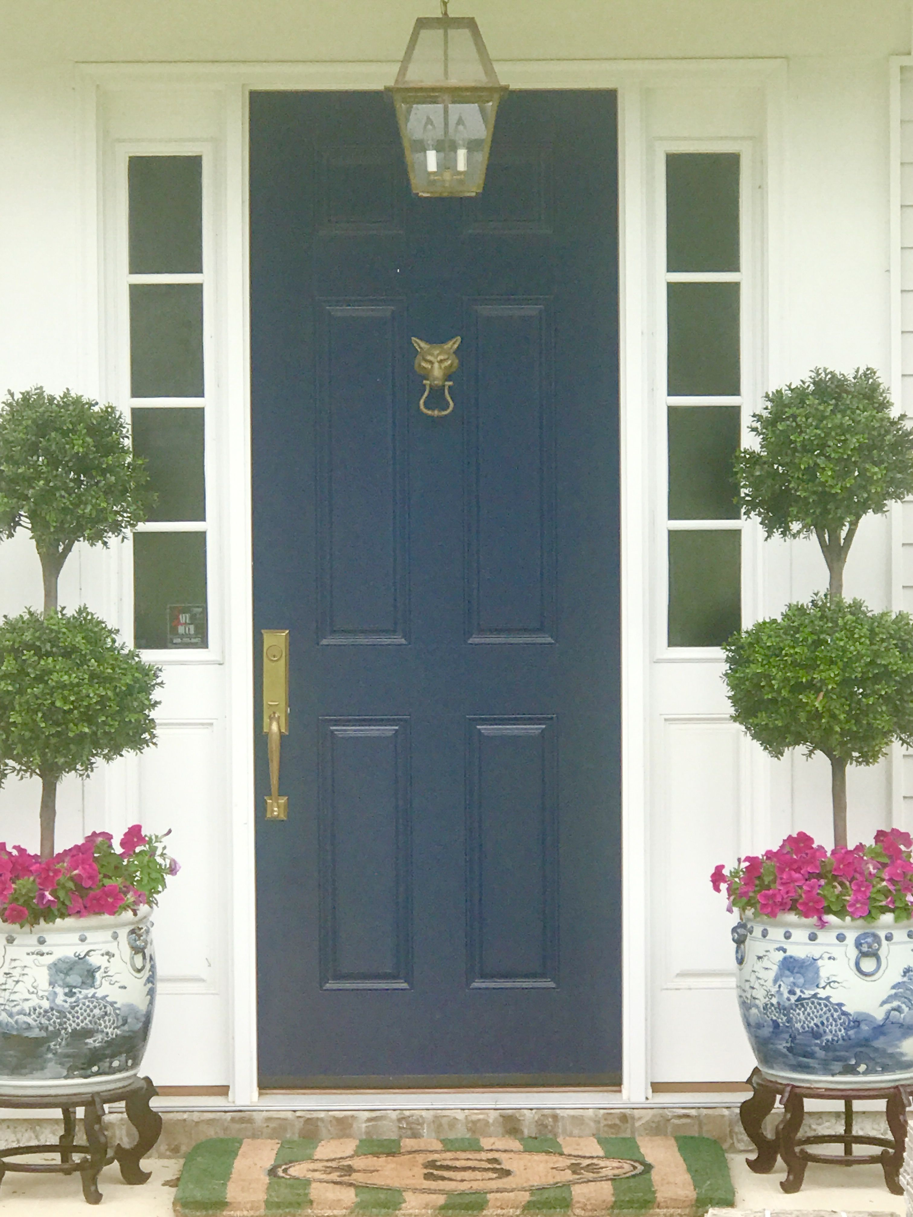 Beautiful Doors For Homes Pink And Navy Front Porch Sherwin Williams Naval Front