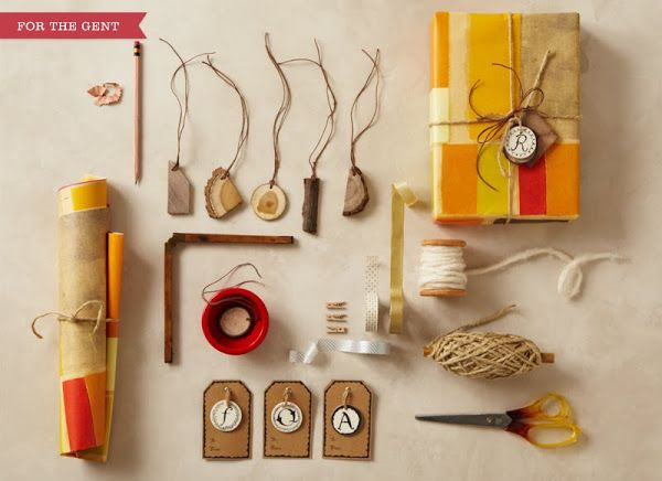 edizioni: Anthropologie's wrapping station from my favorite Angela Liguori.