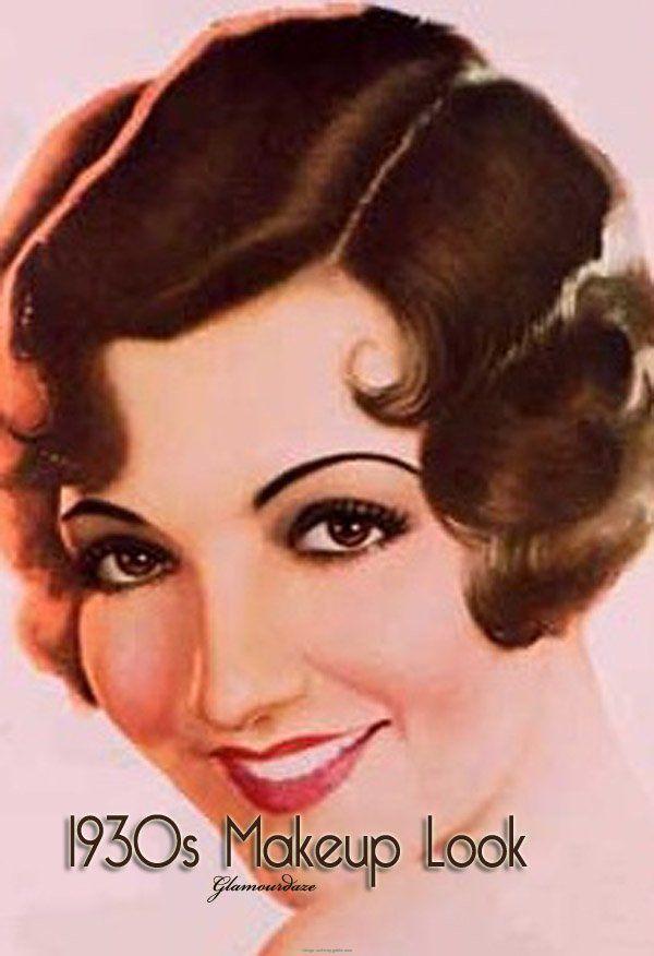 1930 makeup - Buscar con Google